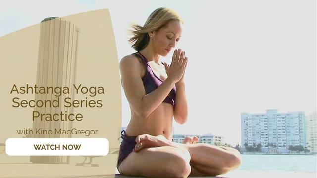 thumbnail image for Ashtanga Yoga Second Series: Practice