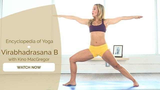 thumbnail image for Virabhadrasana B - Warrior Two