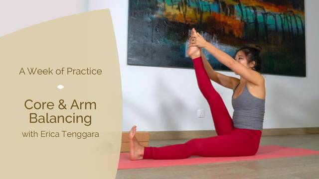 thumbnail image for Day 5: Core & Arm Balancing