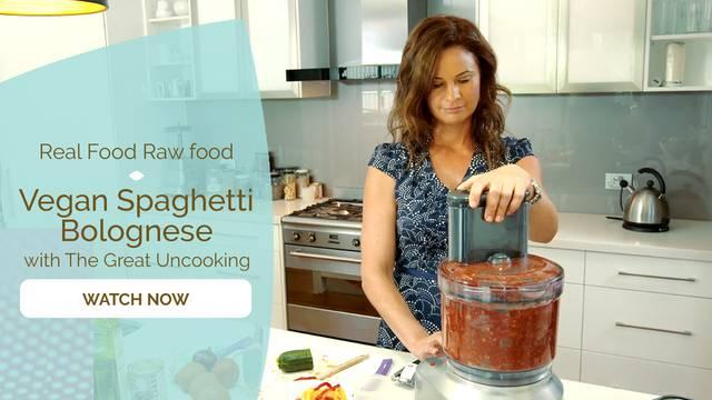 thumbnail image for Vegan Spaghetti Bolognese