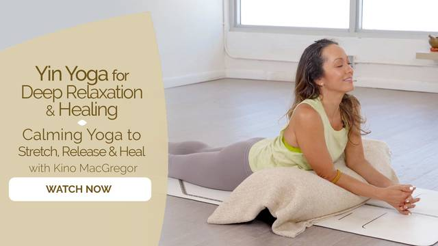 thumbnail image for Calming Yoga to Stretch, Release and Heal