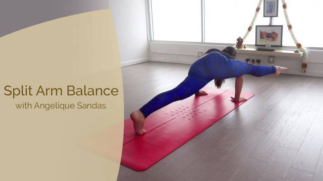thumbnail image for Split Arm Balance with Angelique