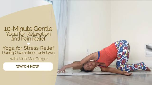 thumbnail image for Yoga for Stress Relief During Quaratine Lockdown