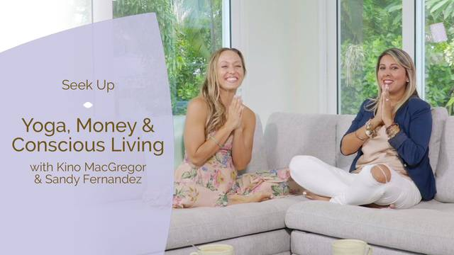 thumbnail image for Yoga, Money & Conscious Living With Sandy Fernandez