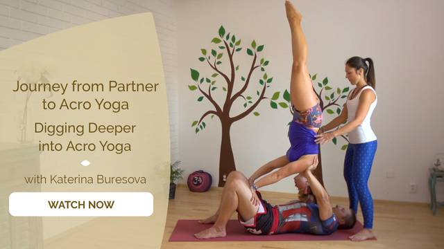 thumbnail image for Digging Deeper into Acro Yoga