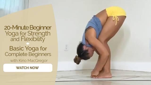 thumbnail image for Basic Yoga for Complete Beginners
