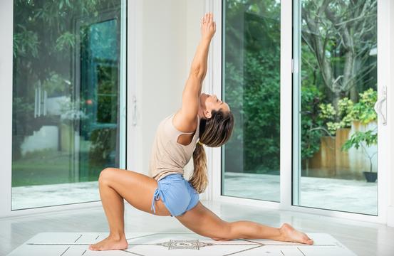 thumbnail image for Class 28—Stretching/Rest—Anjaneyasana