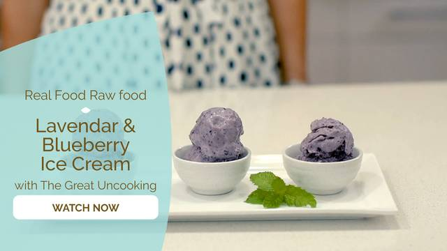 thumbnail image for Lavendar & Blueberry Ice-Cream