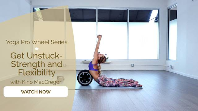 thumbnail image for Yoga Pro Wheel with Kino: Get Unstuck