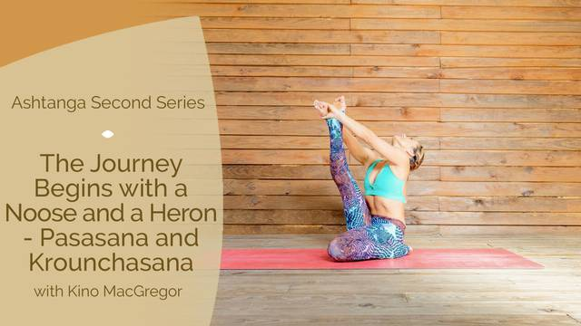 thumbnail image for The Journey Begins with a Noose and a Heron — Pasasana and Krounchasana