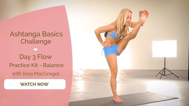 thumbnail image for Day 3 Flow - The Practice Kit - Balance
