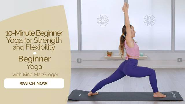 thumbnail image for Beginner Yoga