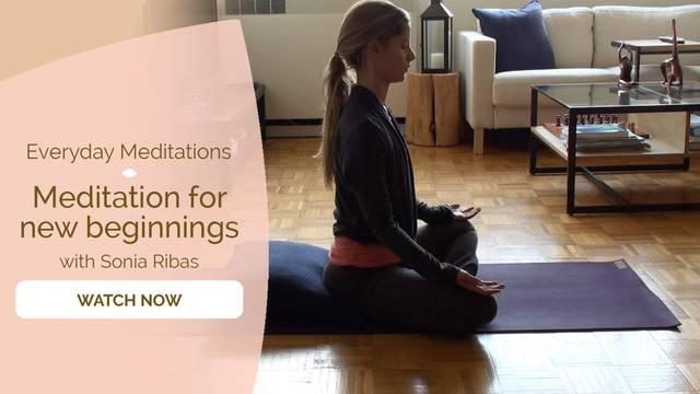 thumbnail image for Meditation for New beginnings