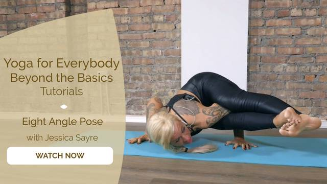 thumbnail image for Eight Angle Pose  with Jessica Sayre