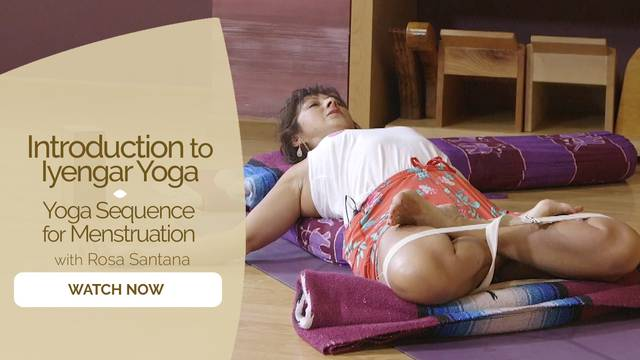 thumbnail image for Yoga Sequence for Menstruation