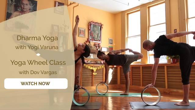 thumbnail image for Dharma Yoga Wheel Class