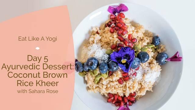thumbnail image for Ayurvedic Dessert