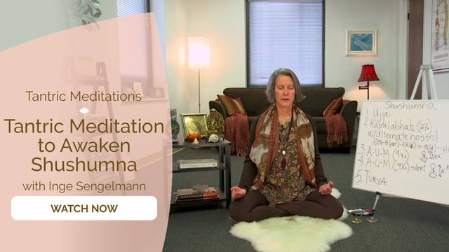 thumbnail image for Tantric Meditation to Awaken Shushumna