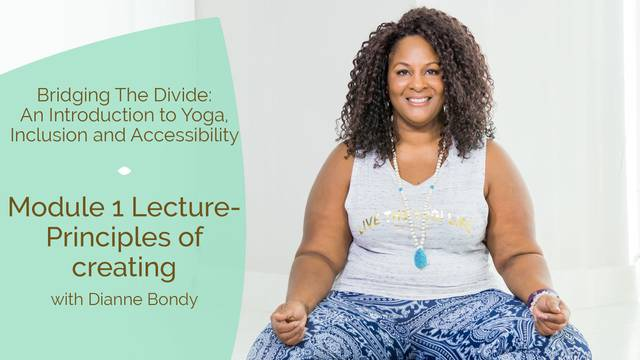 thumbnail image for Module 1 Lecture - Principles of creating Accessible Yoga