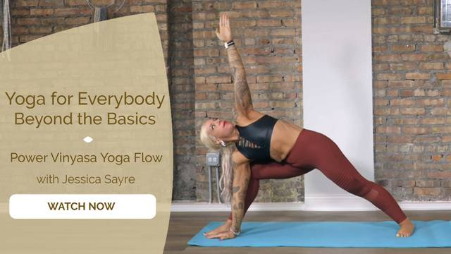 thumbnail image for Power Vinyasa Yoga Flow