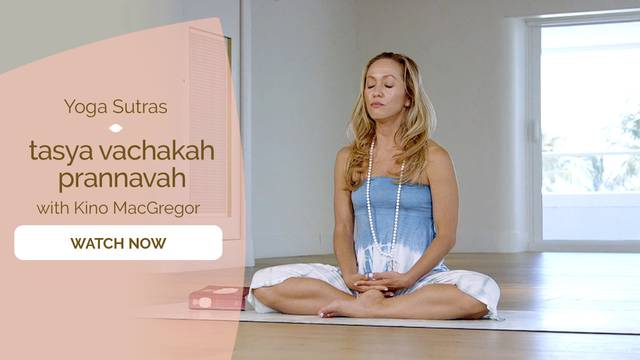 thumbnail image for I.27 tasya vachakah prannavah