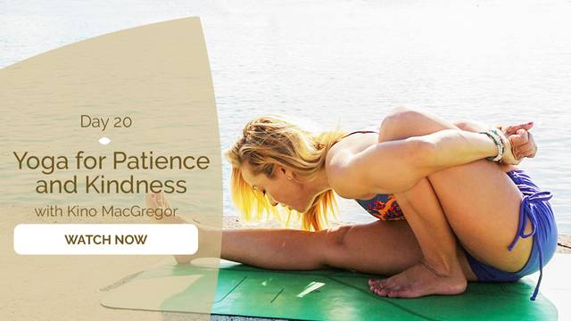 thumbnail image for Day 20: Yoga for Patience and Kindness