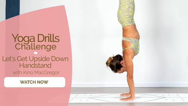 thumbnail image for Let's Get Upside Down- Handstand