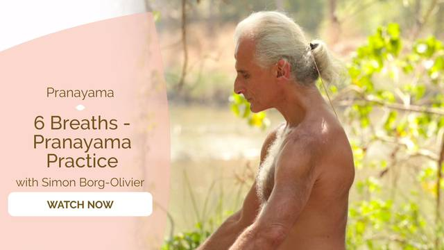 thumbnail image for 6 Breaths - Pranayama Practice