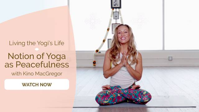 thumbnail image for Notion of Yoga as Peacefulness