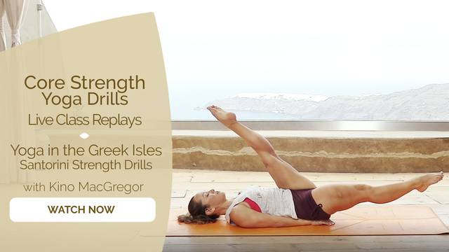 thumbnail image for Yoga in the Greek Isles—Santorini Strength Drills