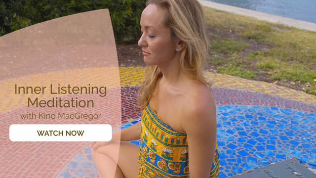 thumbnail image for Day 1 Meditation: Inner Listening with Kino MacGregor