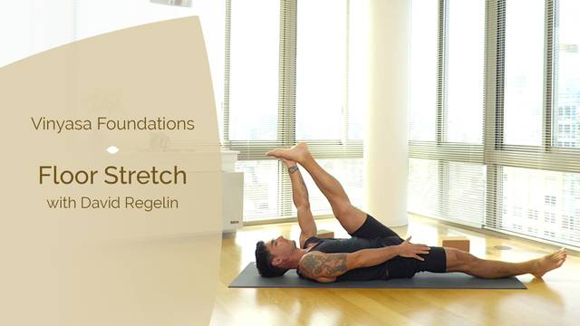 thumbnail image for Day 2 - Full Body with David Regelin: Floor Stretch