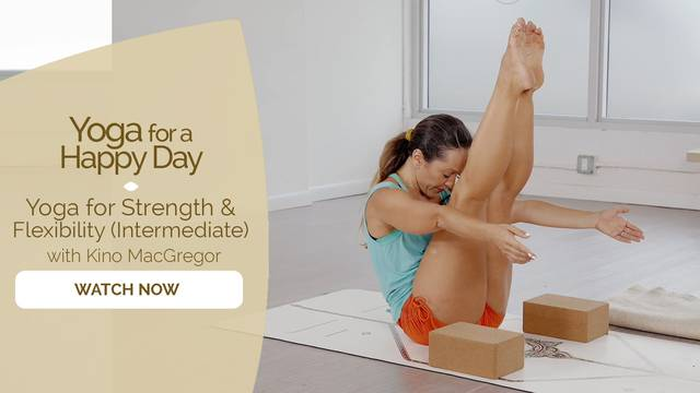 thumbnail image for Yoga for Strength and Flexibility (Intermediate Challenge)