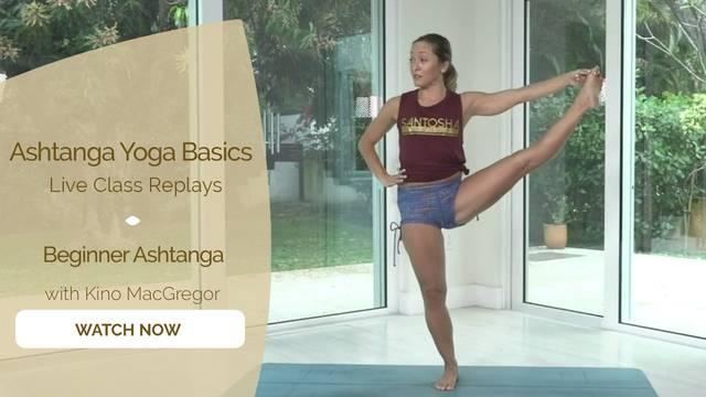 thumbnail image for Ashtanga Basics with Kino MacGregor