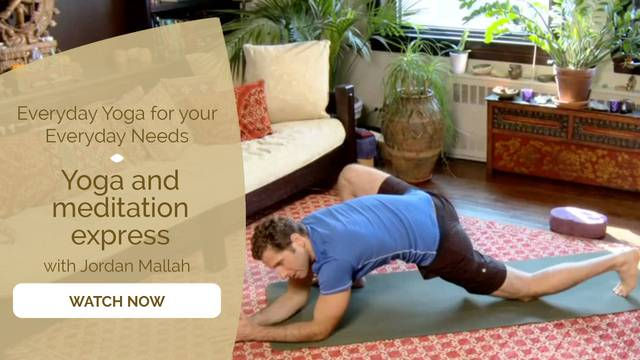 thumbnail image for Day 6 – Full Body with Jordan Mallah: Yoga and Meditation Express
