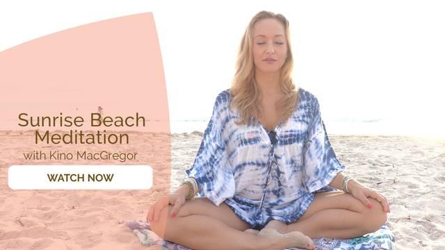 thumbnail image for Sunrise Beach Meditation