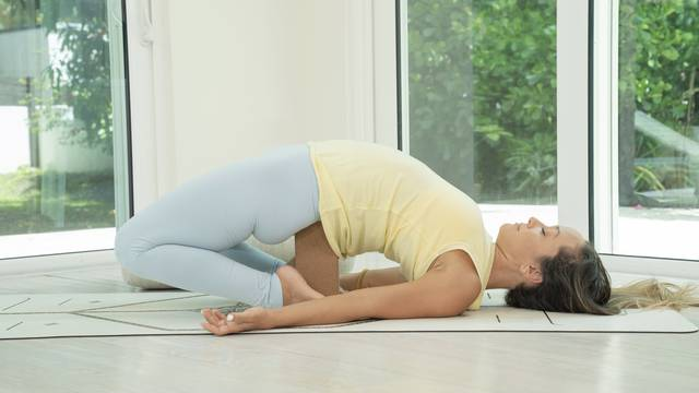 thumbnail image for Yoga for Stress Relief and Deep Stretch