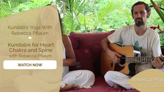 thumbnail image for Kundalini for Heart Chakra and Spine