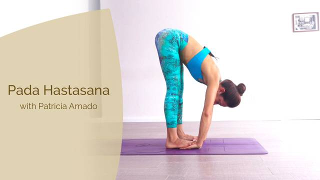 thumbnail image for Pada Hastasana with Patricia Amado
