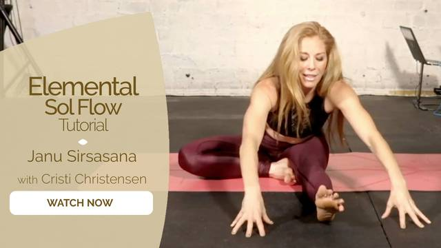 thumbnail image for Janu Sirsasana with Cristi Christensen