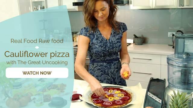 thumbnail image for Cauliflower Pizza