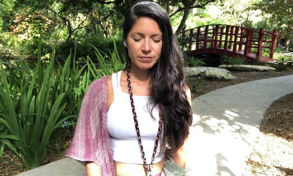 thumbnail image for Garden Meditation & Yogic Breath