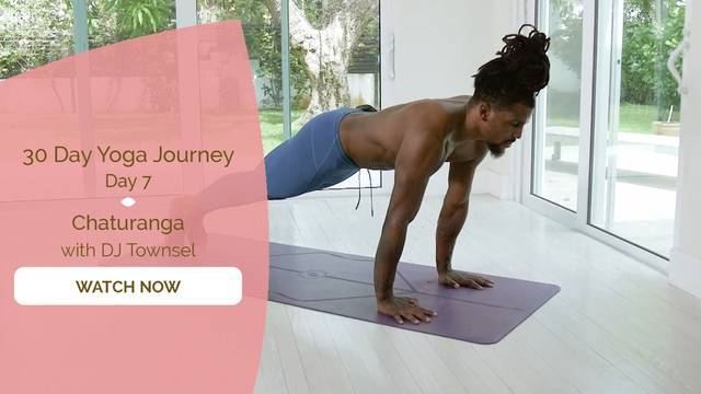 thumbnail image for Day 7 Chaturanga - DJ Townsel
