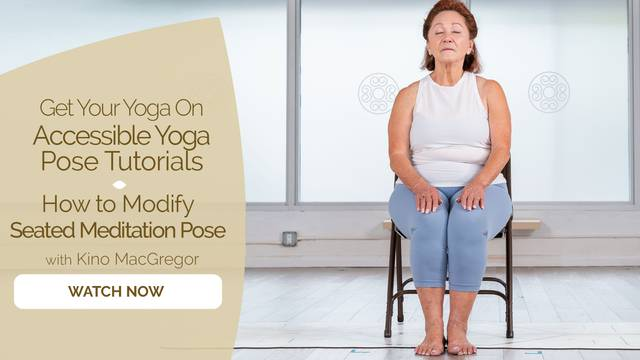 thumbnail image for How to Modify Seated Position for Meditation