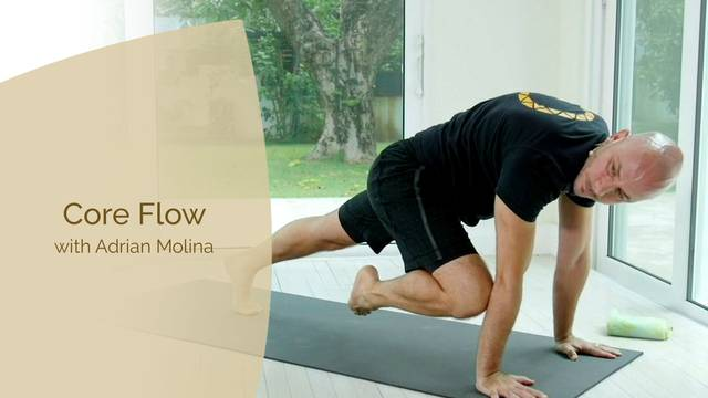 thumbnail image for Warrior Flow Yoga Core Flow with Adrian Molina