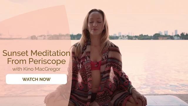 thumbnail image for Sunset Harbor Periscope Meditation