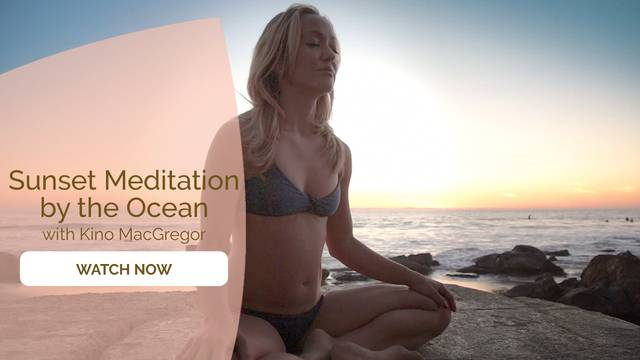thumbnail image for Sunset Meditation by the Ocean