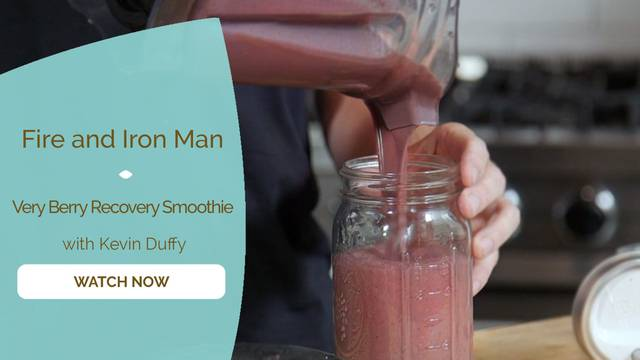 thumbnail image for Very Berry Recovery Smoothie