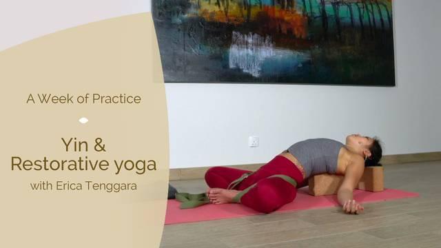 thumbnail image for Day 7: Yin & Restorative yoga