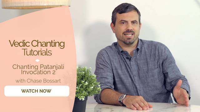 thumbnail image for Chanting Patanjali Invocation 2